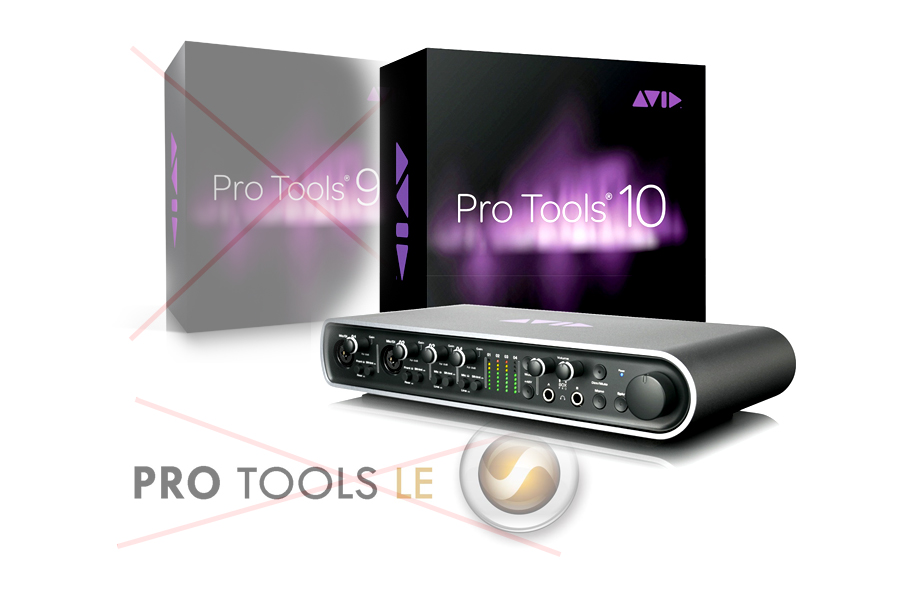Avid Mbox Pro with Pro Tools 10