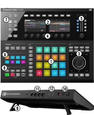 MASCHINE STUDIO Main Features