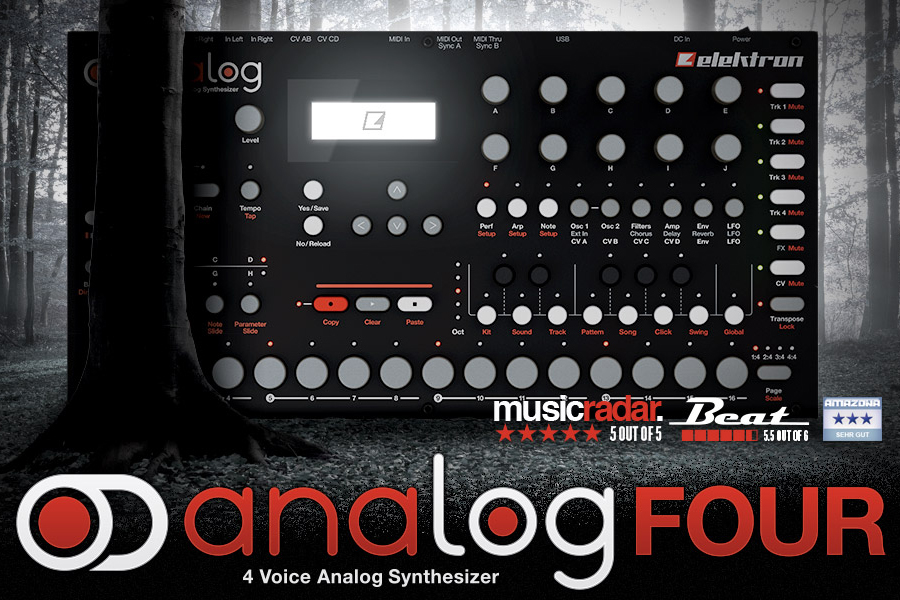 Analog Four nominated for Hardware of the Year Award