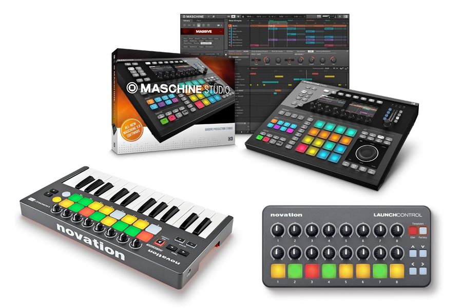 Новинки Native Instruments и Novation