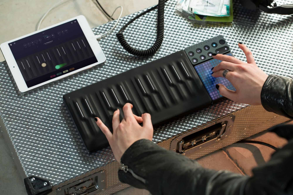 Набор MIDI-контроллеров Roli Songmaker Kit GarageBand Edition