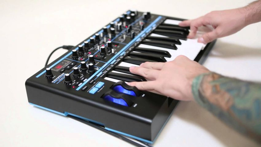 Novation Bass Station II - видеоинструкция