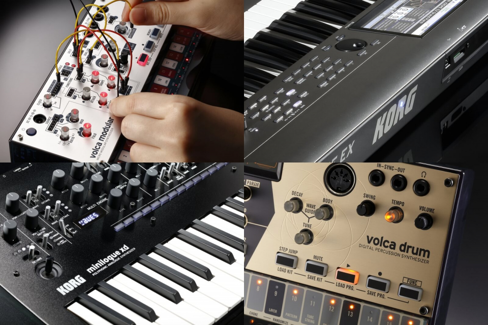 Новинки от KORG: Volca Modular и Drum, Minilogue XD