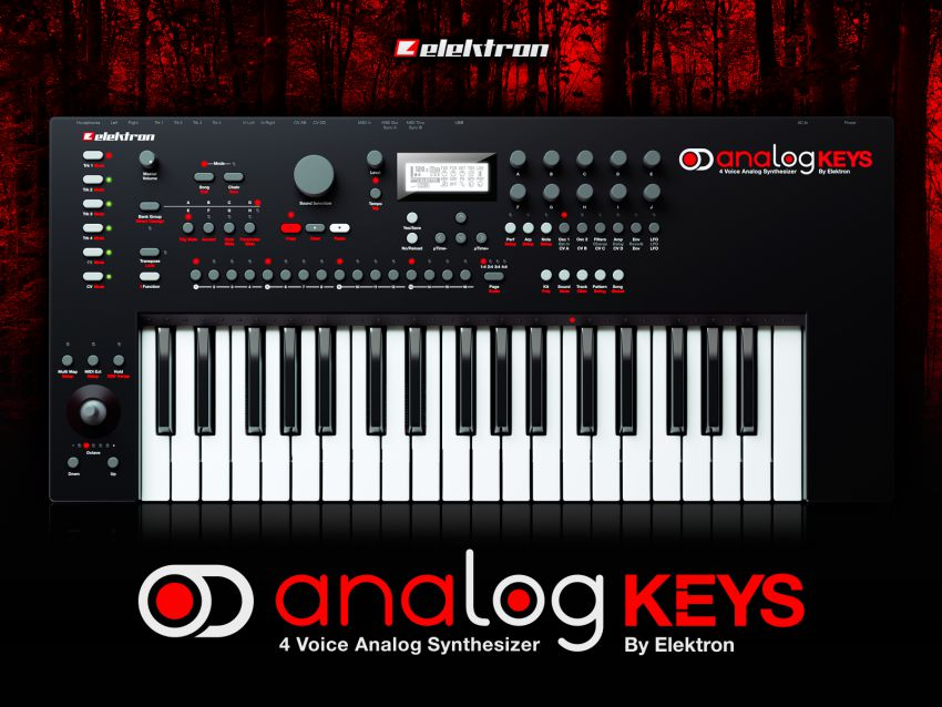Новинка от Elektron - Analog Keys - полный контроль