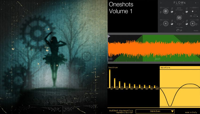 Бесплатные плагины - NI Kinetic Treats, Tim Exile FLOWs, Oneshots Volume 1, HoRNet Harmonics Waveshaper