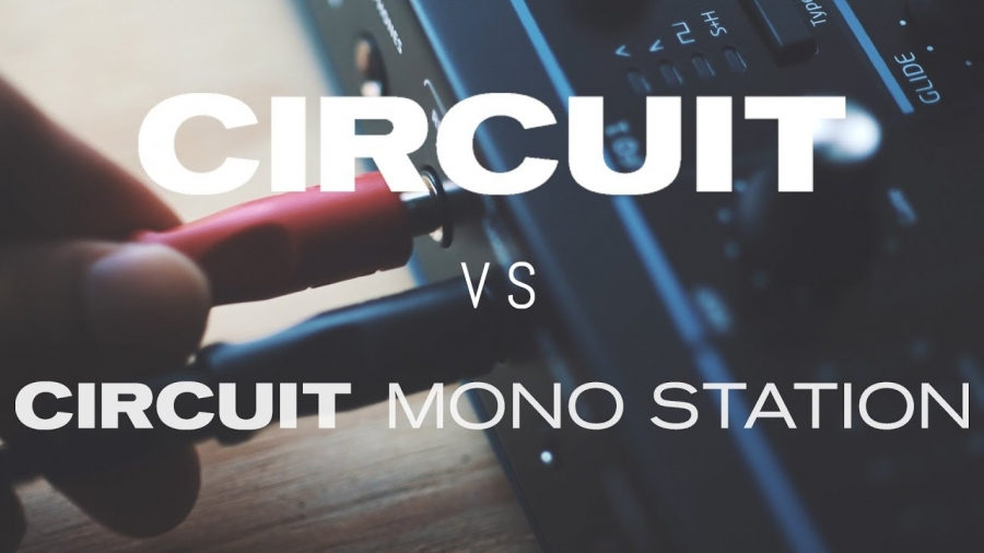 Сравнение Novation Circuit и Circuit Mono Station (видео)