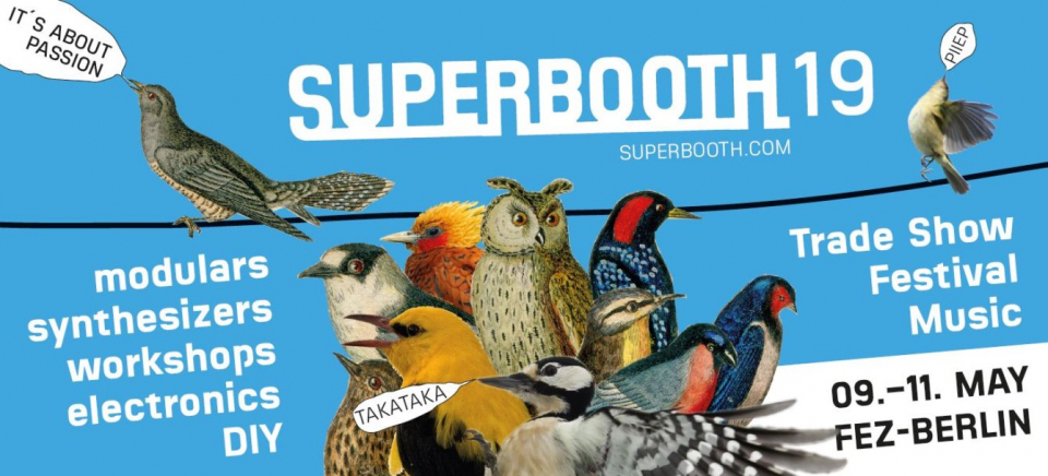 MusicmagTV на Superbooth 2019