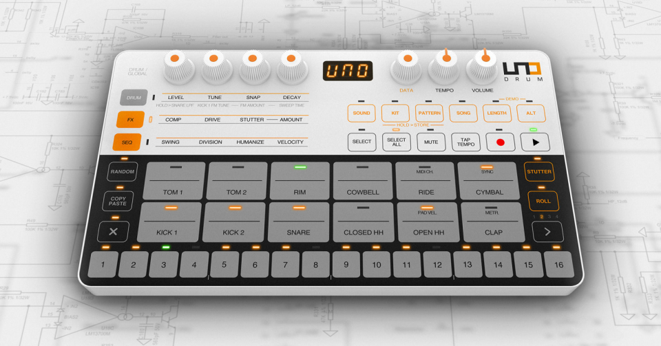 Superbooth 2019: IK Multimedia Uno Drum