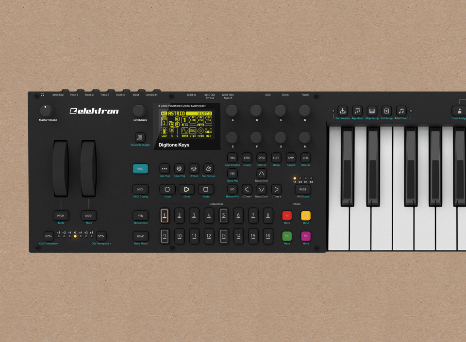 Superbooth 2019: Elektron Digitone Keys