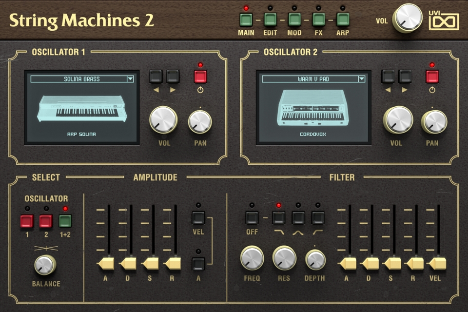 UVI String Machines 2 выпущен