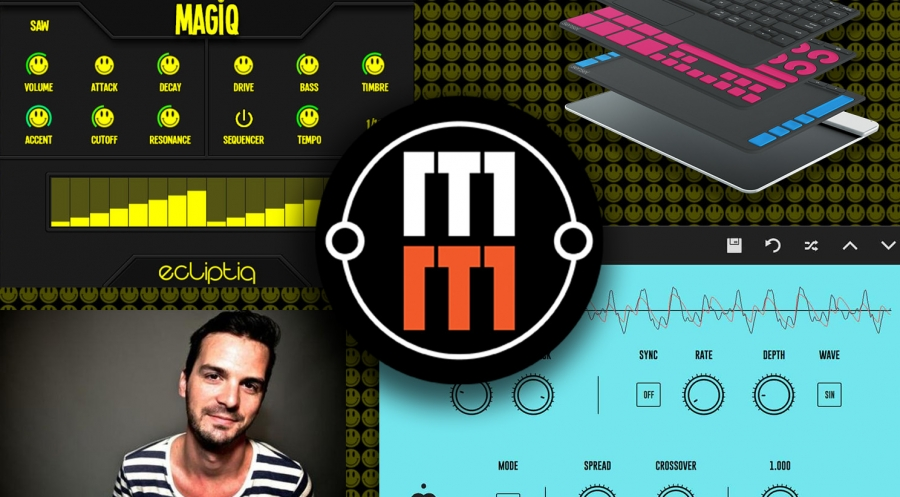 Бесплатные плагины: Dani Karanyi Synth-1, Ecliptiq Audio Magiq, Sensel Morph drum racks, Imaginando DLYM