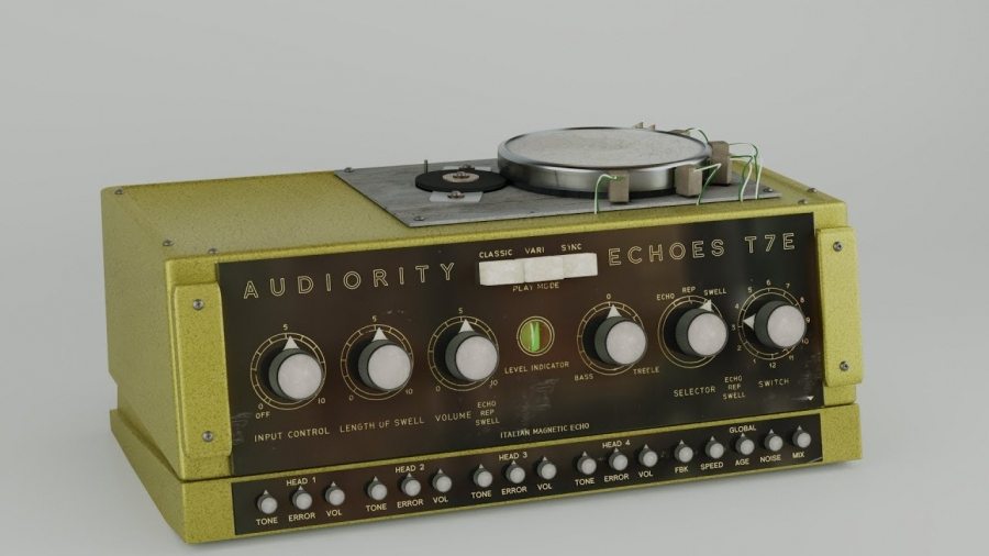 Audiorities Echoes T7E - винтажное tape echo в формате vst