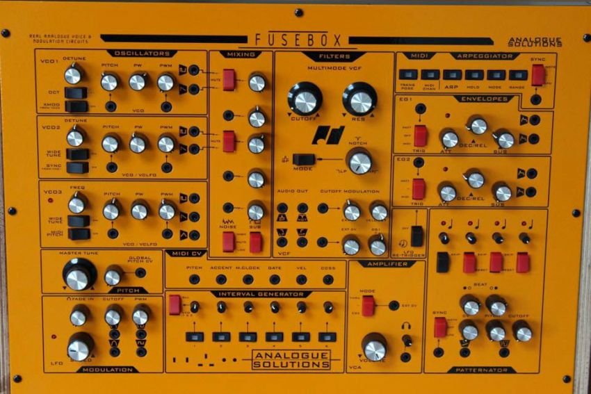 Синтезатор Fusebox от Analogue Solutions
