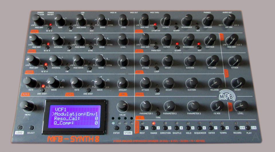 Superbooth 2019: MFB Synth 8