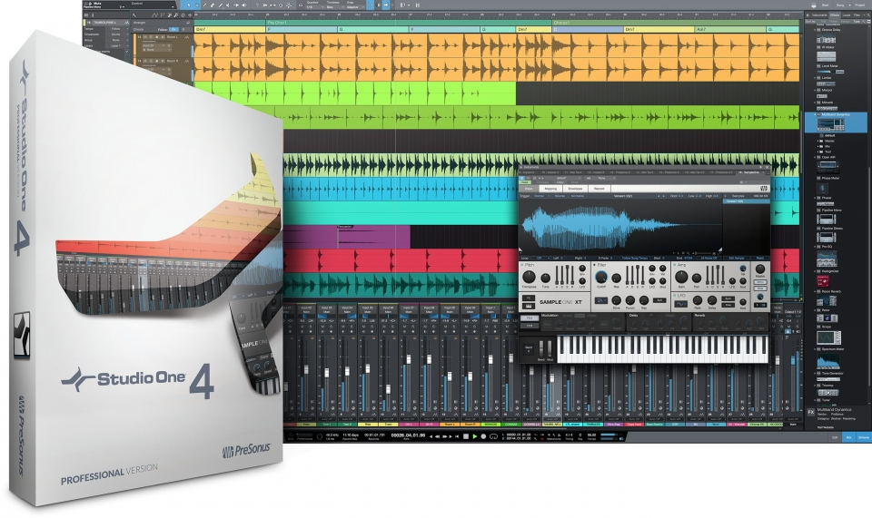 PreSonus Studio One 4 выпущен