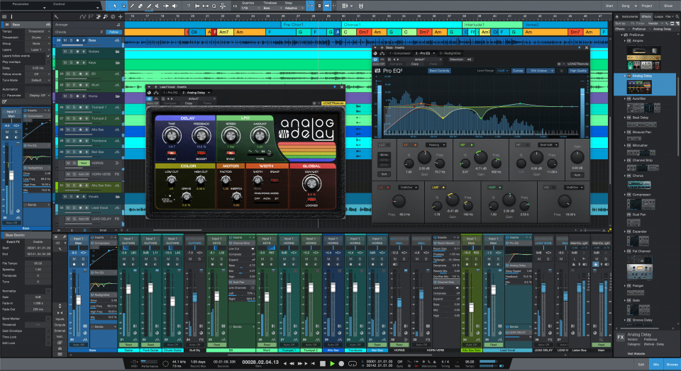 PreSonus Studio One 5 выпущена