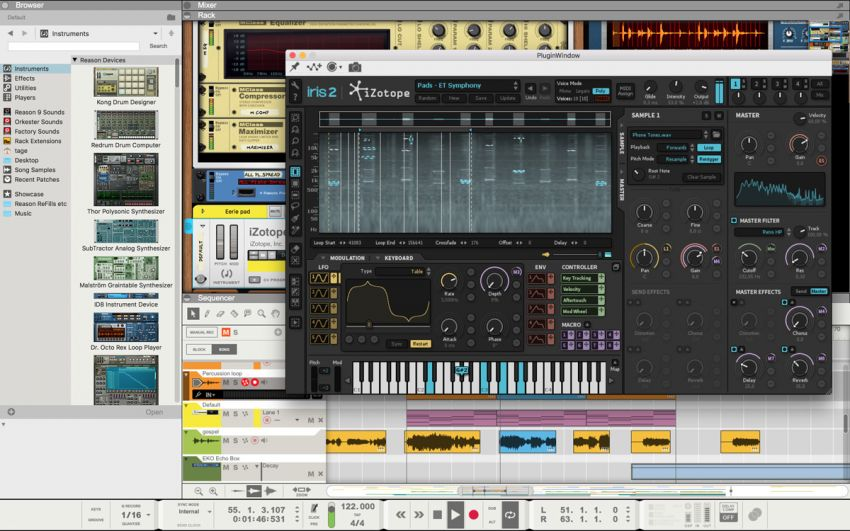 Propellerhead Reason теперь поддерживает VST плагины!